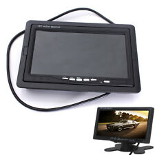 "7"" TFT LCD Color HD Screen Monitor for Car CCTV Reverse Rear View Backup Camera"