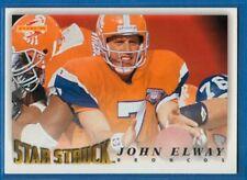 John Elway, Star Struck, 1995 Pinnacle #219, Broncos
