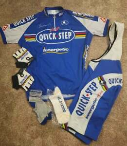 Vermarc QUICK STEP WORLD Championship cycling kit Excellent condition size 3XL