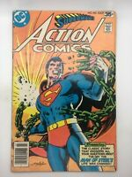 ACTION COMICS  #485 1978 DC BRONZE AGE COMIC BOOK EXPERIMENT THAT BACKFIRED!