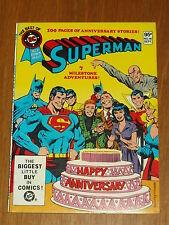 DC BLUE RIBBON DIGEST BEST OF #16 SUPERMAN BRITISH POCKET BOOK