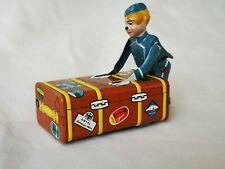 Gescha Express Boy Koffer Boy Blechspielzeug Selten - Rare - Raro