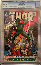 Thor #148 CGC 7.0 OW/W - 1st Appearance of The Wrecker; Origin of Blackbolt
