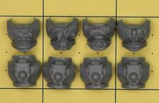 Warhammer 40K Space Marines Space Wolves Thunderwolf Cavalry Marine Torso Fronts