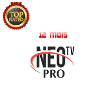 Néo Pro 2 ABONNEMENT 12 mois,smart Iptv, android TV box, mag,H265, Amazon