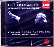 Sergiu CELIBIDACHE Italian Opera ROSSINI William Tell VERDI La forza del destino