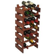 Wooden Mallet 21-Bottle Dakota Wine Rack  Mahogany NEW
