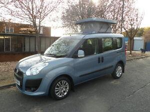 Fiat Doblo Mini Small Universal Vertical Elevating Roof (Streamline PopTop Roof)