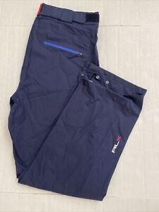 RLX Ralph Lauren Carryover French Navy Waterproof Breathable Men Pant Size XL