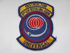 RAF/USAF squadron cloth patch  instructor 9th air refueling sq universal