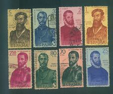 Spain 1960 Florida's discovery & colonization, 4th cent Sc# 945-952 full use set