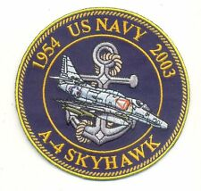 US Navy A-4 SKYHAWK Patch Without Vel