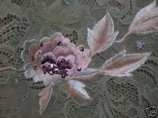 Mandalay Beautiful Two-Piece Lace Beads Sequins embroidered Flowers 4
