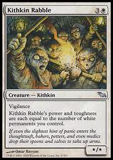 4x Tumulto di Kithkin - Kithkin Rabble MTG MAGIC SM Shadowmoor Ita/Eng