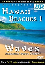 HD HAWAII BEACHES 1 DVD - #1 Relaxing Ocean Waves Nature Sounds for relaxation