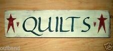 Primitive Sign Quilts Barn Stars Americana Sign