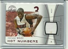 DWYANE WADE 2003-04 Flair FinalL RC Jersey RUBY 1/18 DIE CUT 1 ST CARD EXQUISITE