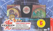 Coffret 30 Cartes Bakugan dont 6 spéciales - Coffret Cartes Booster Premium - 1
