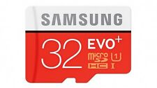SAMSUNG EVO + Plus 32gb CLASSE 10 Micro Scheda di memoria SDHC-Confezione da 80mb/s a dettaglio