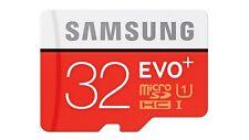 SAMSUNG EVO+ PLUS 32GB CLASS 10 MICRO SDHC MEMORY CARD - 80MB/S RETAIL PACK