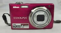 "Nikon COOLPIX S630 12.0MP 7X Zoom 2.7"" LCD With Case"