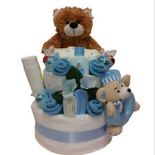 Nappy Cake New Born Boy Beautifully for Baby Gift