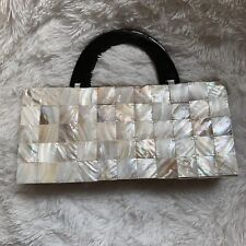 Mad Bags Mother Of Pearl Vintage Style Purse Handbag