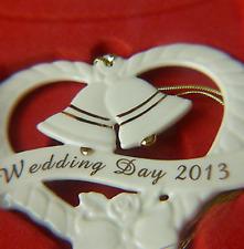 Lenox 2013 Wedding Bells Ornament