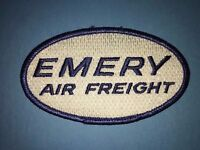 Emery Air Freight Delivery Employee Uniform Hat Hipster Jacket Patch Crest