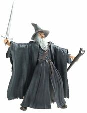Collectible Lord of the Rings Fellowship of Rings Gandalf Grey Light-Up Action