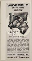 1966 Print Ad Swift Sport King Binoculars Widefield Boston,MA San Jose,CA