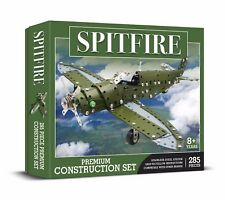SPITFIRE Construction Set 285 PIECE STAINLESS STEEL SYSTEM Meccano Like