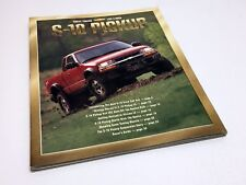 2001 Chevrolet S-10 Pickup Brochure