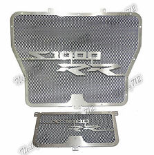 Radiator Oil Cooler Grill Guard Cover Protector Black Fit BMW S1000R S1000RR HP4