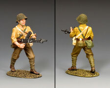 KING & COUNTRY WW2 JAPANESE NAVY JN053 JAPANESE ADVANCING MACHINE GUNNER MIB