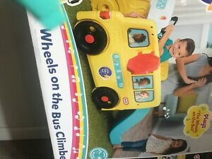 Little Baby Bum Wheels on the Bus Climber and Slide with Interactive Musical Das