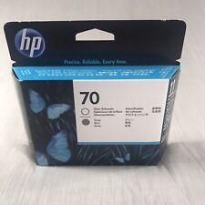 NIB C9410A HP 70 Gloss Enhancer & Gray Printhead / Warranty Exp DEC 2012