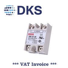 Fotek Solid State Relay SSR-40DA 40A /250V In : 3-32V DC Out : 24-380VAC 000385