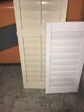 New Poly Plantation Shutters 3.5 Louver Top Quality Any Size $19 Per Ft Shipped