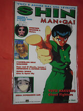 SHIN MANGA N°2 CON YUYU HAKUSHO -VOCI E ANIME DAL SOL LEVANTE 1999 RARO DUEMME