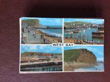 F1e postcard used 1970s west bay views