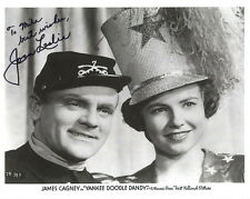JOAN LESLIE HAND SIGNED 8x10 PHOTO+COA       YANKEE DOODLE DANDY      TO MIKE