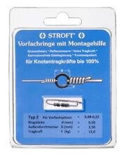 STROFT Vorfachringe Pitzenbauer Typ 2 = 0,08mm - 0,22mm Vorfachspitzen