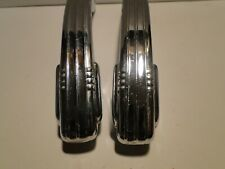 1928-1942 Chrysler Dodge Plymouth Desoto Chrome Interior Door Handles Mopar NOS