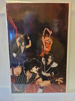 """KISS """"The End"""" #5 Virgin Incentive Cover Variant 1:30 Rare Book!"""