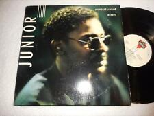 JUNIOR Sophisticated Street 1988 LONDON ORIG SOUL FUNK LP RARE NMint