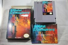 Mafat Conspiracy (Nintendo NES) Complete in Box GREAT