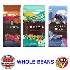 1x Starbucks Coffee @ Brazil, Costa Rica or Kenya Premium Collection @ 255g/9oz