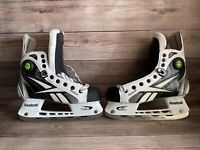 Reebok Pump Ice Skates JR PUMP SKATE WHITE/ Black E Pro Performance Lite SZ 3 US