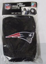 NFL NWT HEAD REST COVERS SET OF 2- NEW ENGLAND PATRIOTS